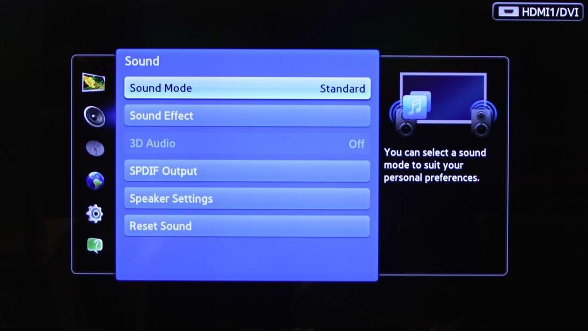 телевизор самсунг картинка отстает от звука для