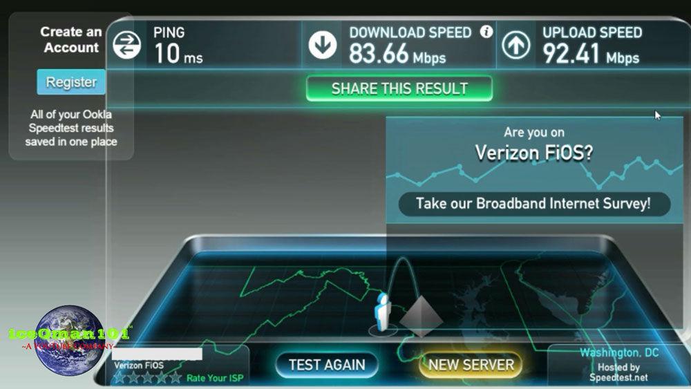 interneti kiiruse mõõtmine