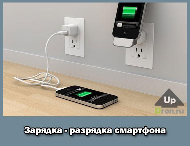 после покупки телефона его нужно разрядить