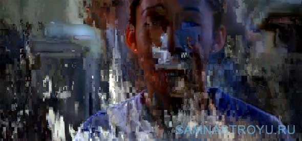 цифровое тв картинка рассыпается